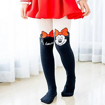 Disney Tights For Girls- Cute Mickey Mouse Cartoon Pantyhose Girls Cotton Children Tights Stockings