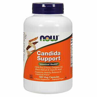 Now Foods Candida Support, 180 вег капсул