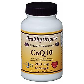 Healthy Origins Coq10, 200 MG, 60 Softgels