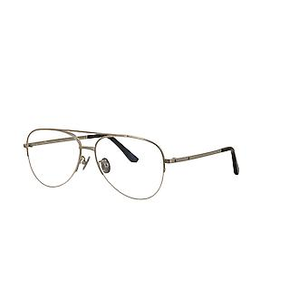 Cartier CT0256O 002 Silver Glasses