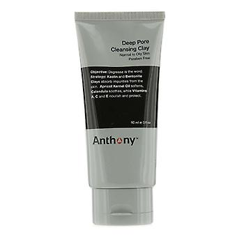 Anthony Logistics For män Deep Pore Cleansing Clay (Normal till fet hy) 90g / 3oz