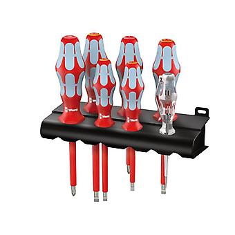 Wera Kraftform Plus VDE Stainless Steel Screwdriver Set of 7 SL/PH WER022728
