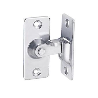 ميني 304 الفولاذ المقاوم للصدأ 90 درجة الحق زاوية مشبك، قفل بولت