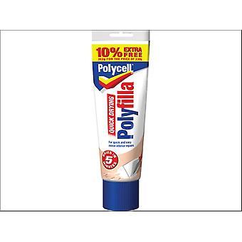 Polycell Multi Purpose Quick Dry Polyfilla 330g + 10%