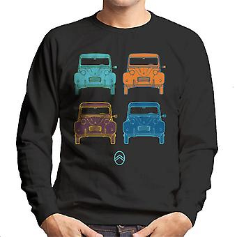 Citro�n 2CV Pop Art Style Men's Sweatshirt