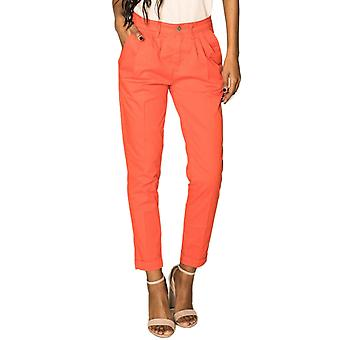 Women's Mom Pants High Waist Wide Pants Carotte Cropped Stretch Relaxed Casual