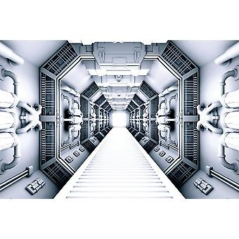 Väggväggvägg främmande rymdskepp Interiör (16823312)