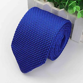New Style Homme & s Solide Cravate colorée Tricot Knit Knitted Ties Necktie Normal Narrow