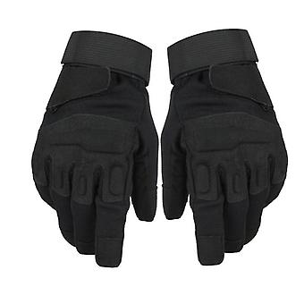Men's Outdoor Military Sport Combat Gloves, Full Finger Army Tactical Mittens
