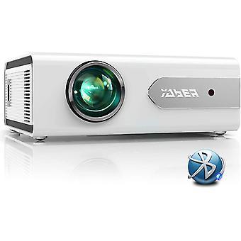 Mini Bluetooth Projector 5500 Lumens Full HD 1080P Home Theater