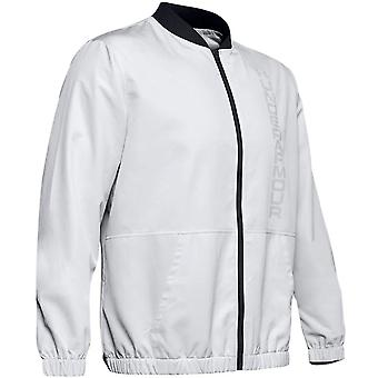 Under Armour Mens Essential Bomber Jacket Warm Up Track Top 1345610 014