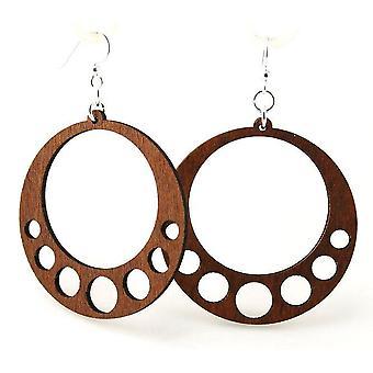 Hanging Circle Earrings