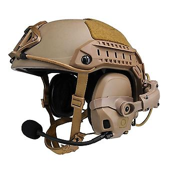 Tactical Amp Headset Head & Helmet-mounted, Pickup Noise Reduction Military
