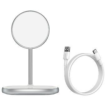 Baseus 15w carregador sem fio carregador de telefone para desktop apenas para a série iphone 12