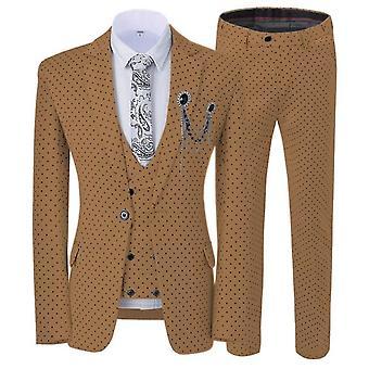 Peaky Blinder Groom Wear Suit