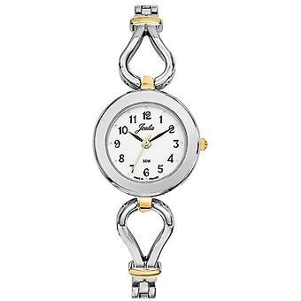 Certus Watch 634003 - JOALIA Bo tier stål runde hvite dial kvinner
