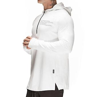 Gym Sport Jacket Men Sweatshirt Running Hoodies Zipper Workout Training