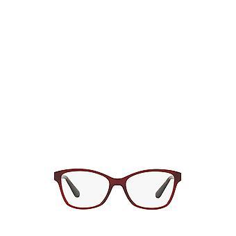 Vogue VO2998 opale rouge foncé lunettes féminines