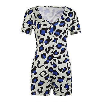 Women V-neck Bodycon Sleepwear Jumpsuit