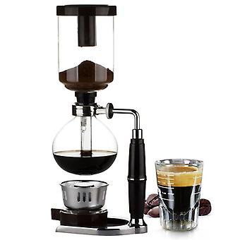 Tee Siphon Topf Vakuum Kaffeemaschine Glas Typ Kaffeemaschine Filter Espresso