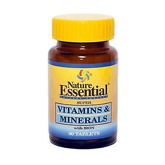 Vitamins and minerals 60 tablets of 600mg