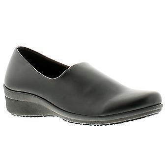 Dr Keller dr reach 2 con womens ladies wedge shoes black UK Size