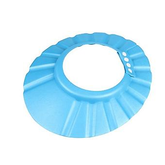 Verstelbare Kids Shampoo Shower Cap blauw