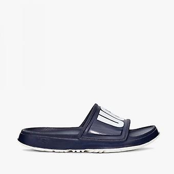 UGG Wilcox Mens Eva Slide Sandals Dark Sapphire