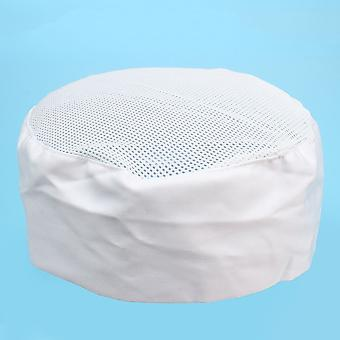 Professional Chefs Mesh Top Skull Cap/men Restaurant Kitchen Catering Cooking