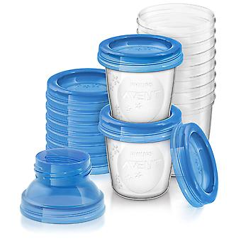 Philips Breast Milk Containers 180 ml