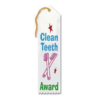 Cinta premio dientes limpios (paquete de 6)