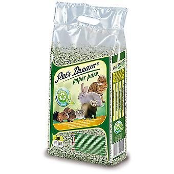 Katt'beste resirkulerte papirgrønnsaksand for små dyr