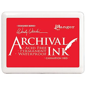 Wendy Vecchi - Jumbo Archival Ink Pads - Carnation Red #3