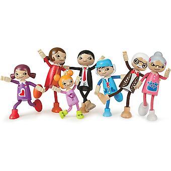 Hape Modern Family Display Figures (1 willekeurig)