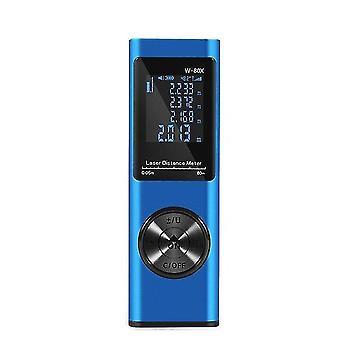 40/80M digital laser rangefinder portable laser distance meter usb charging rangefinder mini handheld distance measuring meter