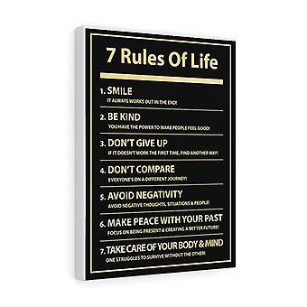 7 Elämän säännöt