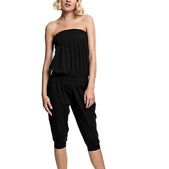 Urban Classics Ladies - TUBE CAPRI Jumpsuit schwarz