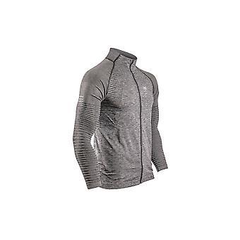 Compressport Seamless Zip Mens Sweatshirt
