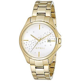 Esprit - Cecilia Analog Wristwatch - for Women - Stainless Steel Strap - Gold