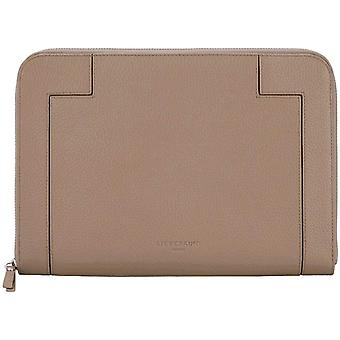 L-Bag Traveler Case Laptop Tasche, groß (21 cm x 29 cm x 1cm), taupe