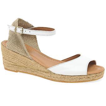 Toni Pons Llivia Womens Wedge Heel Espadrille Sandals
