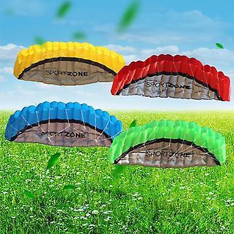 Stunt Sport Soft Kite With Control Bar Kitesurfing Outdoor Flying Kiteboard.