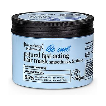 Fast-acting natural hair mask be curl softness and shine 150 ml of cream