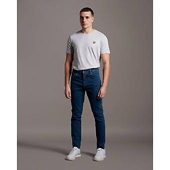 Lyle & Scott Slim Fit Jeans - Mid Wash