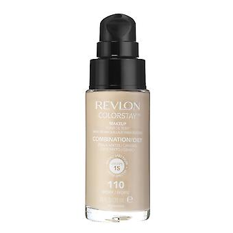 Revlon Colorstay Pump 24HR Make Up SPF15 Comb/Oily Skin 30ml - Choose Shade