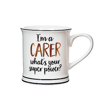 Sass & Belle I'm A Carer Hvad er din Super Power Mug