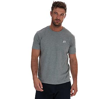 Men's Russell Athletic Crew Neck T-Shirt in Grey