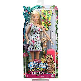 Barbie og Chelsea Den tapte bursdagsdukken og tilbehøret