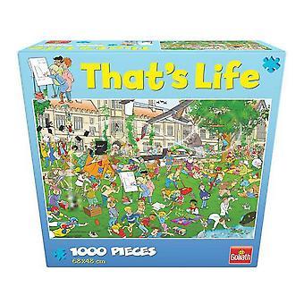 Puzzle That´s Life  Goliath University (1000 pcs)