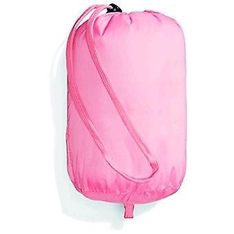 Essentials Little Girl's Leichte wasserabweisende packbare Pufferjacke, Neon Flamingo Pink, Klein